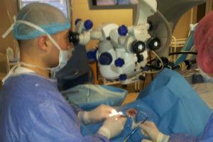 Лечение пациента с катарактой