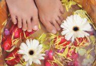 Лечебные ванночки с китайскими травами для ног