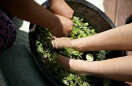 Лечебные ванночки для ног с китайскими травами