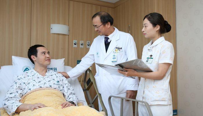 Комфортабельные палаты для больных